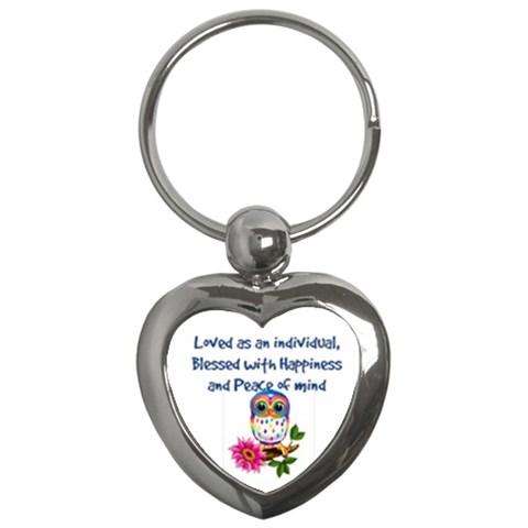 Friend Keychain By Shelleyww42 Gmail Com   Key Chain (heart)   6lwamsva46le   Www Artscow Com Front