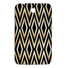 Gold,black,art Deco Pattern Samsung Galaxy Tab 3 (7 ) P3200 Hardshell Case  by 8fugoso