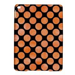 Circles2 Black Marble & Orange Watercolor (r) Ipad Air 2 Hardshell Cases by trendistuff