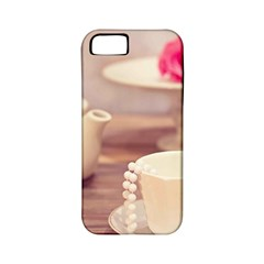 High Tea, Shabby Chic Apple Iphone 5 Classic Hardshell Case (pc+silicone) by 8fugoso