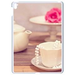 High Tea, Shabby Chic Apple Ipad Pro 9 7   White Seamless Case by 8fugoso
