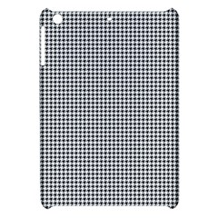 Classic Vintage Black And White Houndstooth Pattern Apple Ipad Mini Hardshell Case by Beachlux