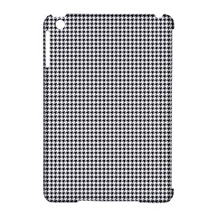 Classic Vintage Black And White Houndstooth Pattern Apple Ipad Mini Hardshell Case (compatible With Smart Cover) by Beachlux