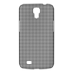 Classic Vintage Black And White Houndstooth Pattern Samsung Galaxy Mega 6 3  I9200 Hardshell Case by Beachlux