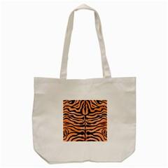 Skin2 Black Marble & Orange Watercolor Tote Bag (cream) by trendistuff