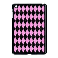 Diamond1 Black Marble & Pink Colored Pencil Apple Ipad Mini Case (black) by trendistuff