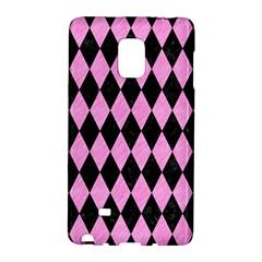 Diamond1 Black Marble & Pink Colored Pencil Galaxy Note Edge by trendistuff