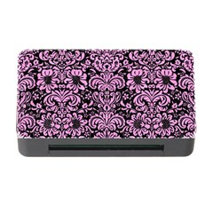 Damask2 Black Marble & Pink Colored Pencil (r) Memory Card Reader With Cf by trendistuff