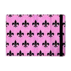 Royal1 Black Marble & Pink Colored Pencil (r) Ipad Mini 2 Flip Cases by trendistuff