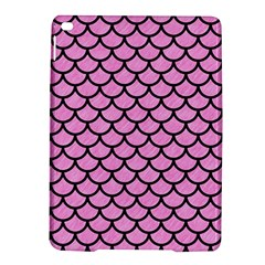 Scales1 Black Marble & Pink Colored Pencil Ipad Air 2 Hardshell Cases by trendistuff