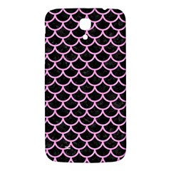 Scales1 Black Marble & Pink Colored Pencil (r) Samsung Galaxy Mega I9200 Hardshell Back Case by trendistuff