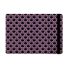 Scales2 Black Marble & Pink Colored Pencil (r) Apple Ipad Mini Flip Case by trendistuff