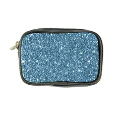 New Sparkling Glitter Print F Coin Purse by MoreColorsinLife