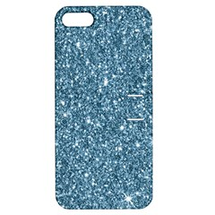 New Sparkling Glitter Print F Apple Iphone 5 Hardshell Case With Stand by MoreColorsinLife