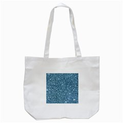 New Sparkling Glitter Print F Tote Bag (white) by MoreColorsinLife