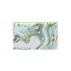 Abstract Marble 1 Cosmetic Bag (xs) by tarastyle