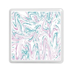 Abstract Marble 4 Memory Card Reader (square)  by tarastyle