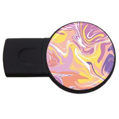 Abstract Marble 5 Usb Flash Drive Round (2 Gb) by tarastyle