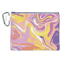 Abstract Marble 5 Canvas Cosmetic Bag (xxl) by tarastyle