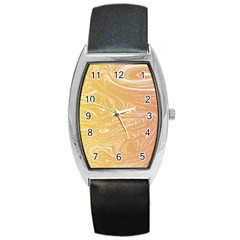Abstract Marble 6 Barrel Style Metal Watch by tarastyle