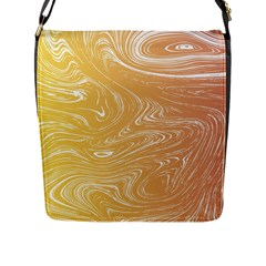 Abstract Marble 6 Flap Messenger Bag (l)  by tarastyle