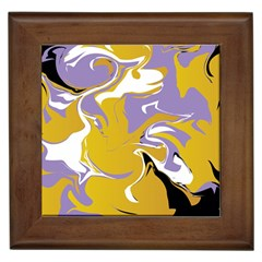 Abstract Marble 7 Framed Tiles by tarastyle