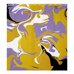 Abstract Marble 7 Shower Curtain 66  X 72  (large)  by tarastyle