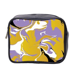 Abstract Marble 7 Mini Toiletries Bag 2 Side by tarastyle