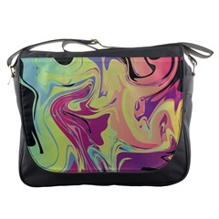 Abstract Marble 8 Messenger Bags by tarastyle