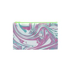 Abstract Marble 12 Cosmetic Bag (xs) by tarastyle