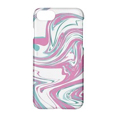 Abstract Marble 12 Apple Iphone 7 Hardshell Case by tarastyle