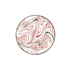 Abstract Marble 13 Hat Clip Ball Marker (4 Pack) by tarastyle