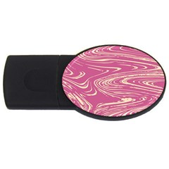 Abstract Marble 14 Usb Flash Drive Oval (4 Gb) by tarastyle