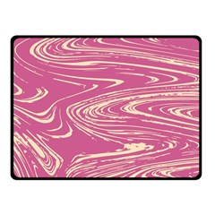 Abstract Marble 14 Fleece Blanket (small) by tarastyle