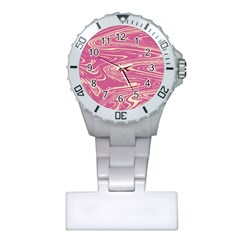 Abstract Marble 14 Plastic Nurses Watch by tarastyle