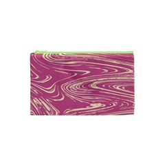 Abstract Marble 14 Cosmetic Bag (xs) by tarastyle