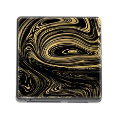 Abstract Marble 15 Memory Card Reader (square) by tarastyle