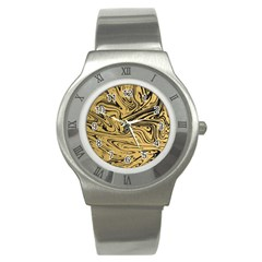 Abstract Marble 16 Stainless Steel Watch by tarastyle