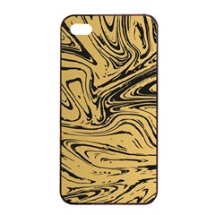 Abstract Marble 16 Apple Iphone 4/4s Seamless Case (black) by tarastyle