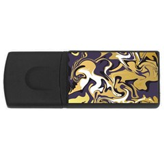 Abstract Marble 17 Rectangular Usb Flash Drive by tarastyle