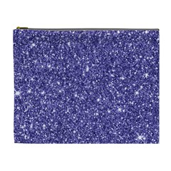 New Sparkling Glitter Print E Cosmetic Bag (xl) by MoreColorsinLife