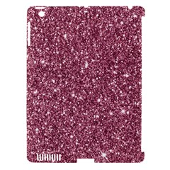 New Sparkling Glitter Print C Apple Ipad 3/4 Hardshell Case (compatible With Smart Cover) by MoreColorsinLife