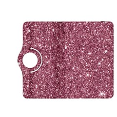 New Sparkling Glitter Print C Kindle Fire Hdx 8 9  Flip 360 Case by MoreColorsinLife