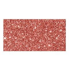 New Sparkling Glitter Print B Satin Shawl by MoreColorsinLife