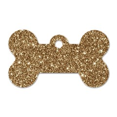 New Sparkling Glitter Print H Dog Tag Bone (two Sides) by MoreColorsinLife