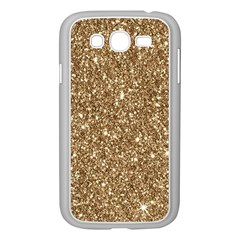 New Sparkling Glitter Print H Samsung Galaxy Grand Duos I9082 Case (white) by MoreColorsinLife