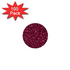 New Sparkling Glitter Print J 1  Mini Buttons (100 Pack)  by MoreColorsinLife