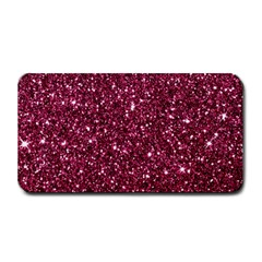 New Sparkling Glitter Print J Medium Bar Mats by MoreColorsinLife