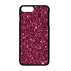 New Sparkling Glitter Print J Apple Iphone 7 Plus Seamless Case (black) by MoreColorsinLife