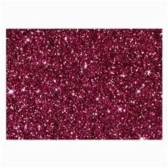New Sparkling Glitter Print J Large Glasses Cloth by MoreColorsinLife